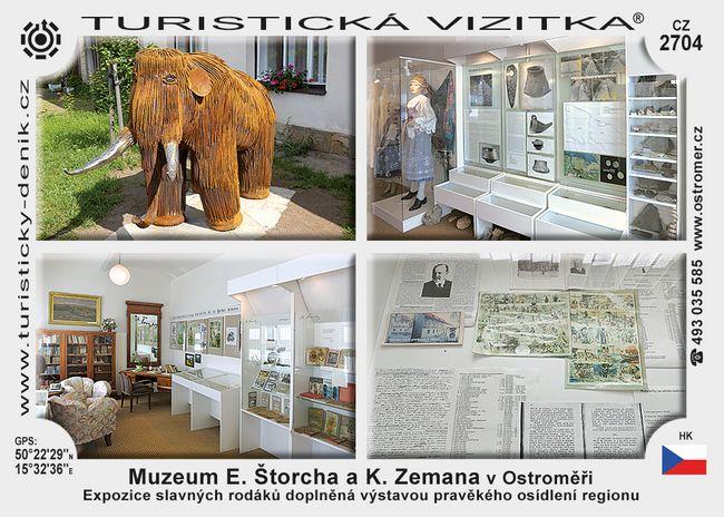 Muz. E. Štorcha a K. Zemana v Ostroměři