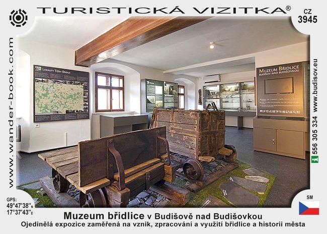 Muzeum břidlice v Budišově nad Budišovkou
