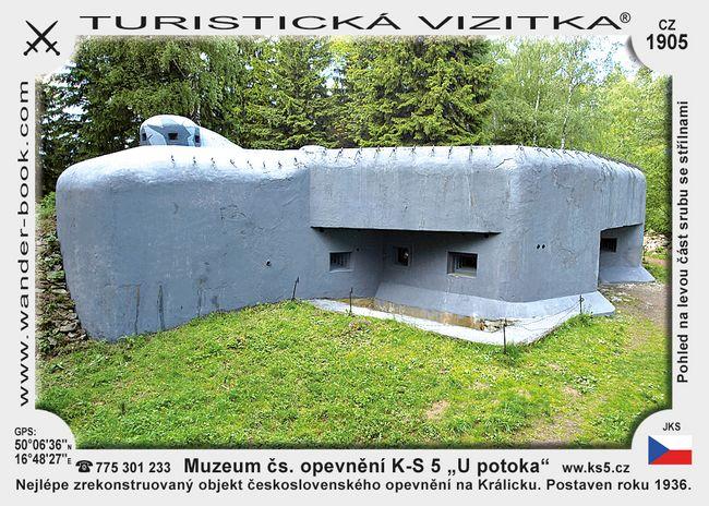 Muzeum čs. opevnění K-S 5 U potoka