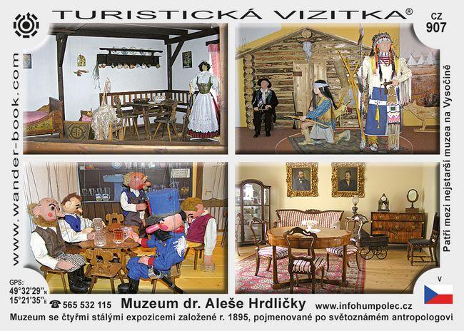 Muzeum Dr. Aleše Hrdličky v Humpolci