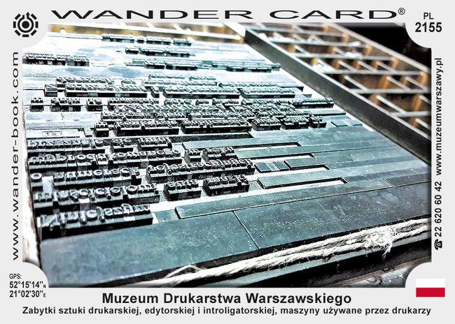 Muzeum Drukarstwa Warszawskiego