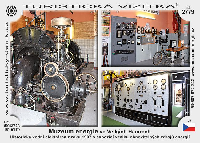 Muzeum energie ve Velkých Hamrech