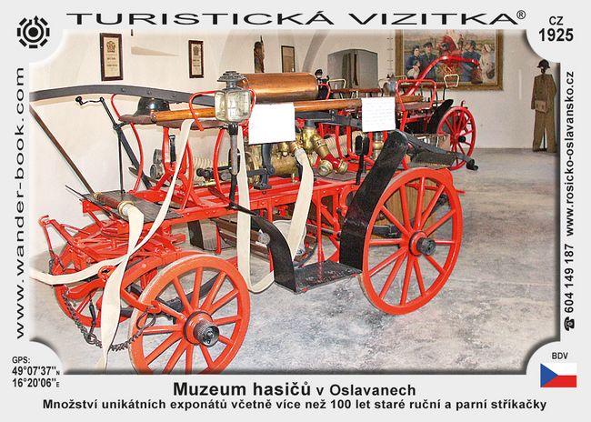 Muzeum hasičů v Oslavanech