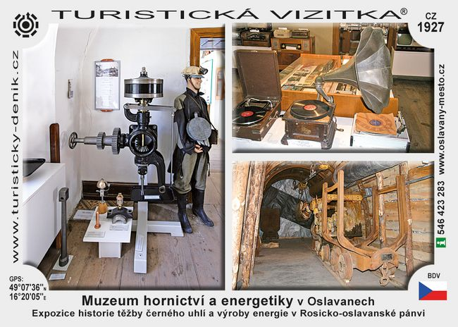 Muzeum hornictví a energ. v Oslavanech