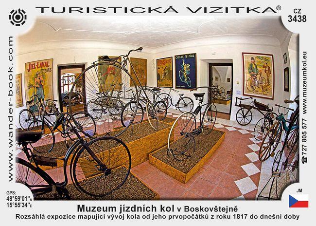 Muzeum jízdních kol v Boskovštejně