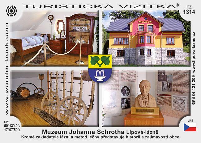 Muzeum Johanna Schrotha Lipová-lázně