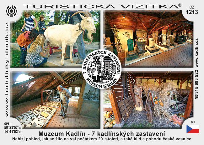 Muzeum Kadlín - 7 kadlínských zastavení
