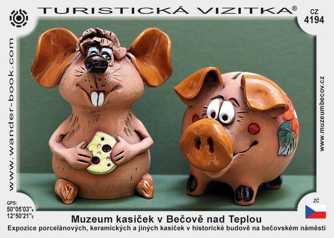 Muzeum kasiček v Bečově nad Teplou