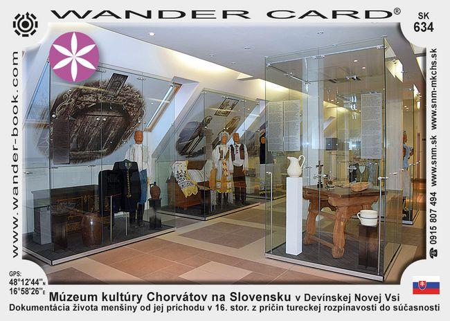 Múzeum kultúry Chorvátov na Slovensku v Devínskej Novej Vsi