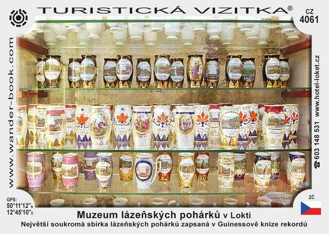 Muzeum lázeňských pohárků v Lokti