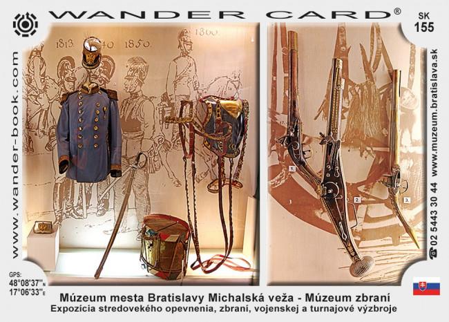 Múzeum mesta Bratislavy Michalská veža – Múzeum zbraní