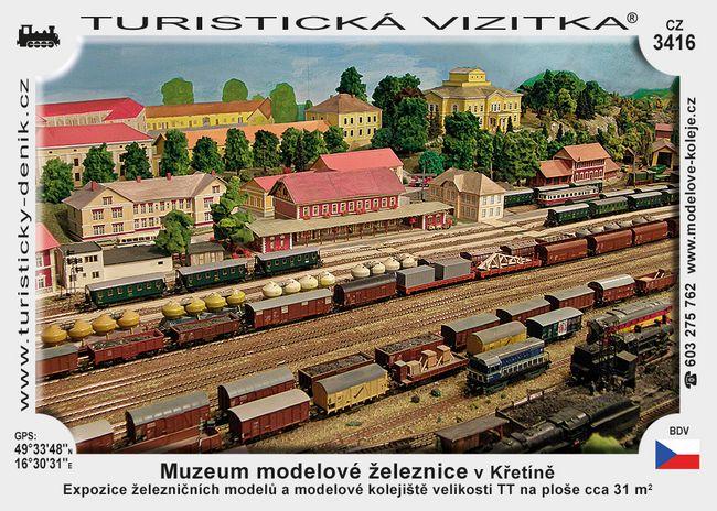 Muzeum modelové železnice v Křetíně