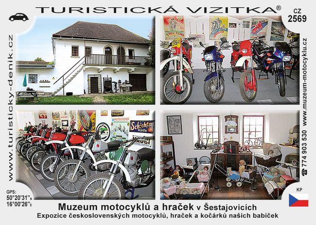 Muzeum motoc. a hraček v Šestajovicích