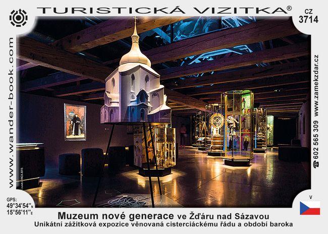 Muzeum nové generace ve Žďáru n. S.