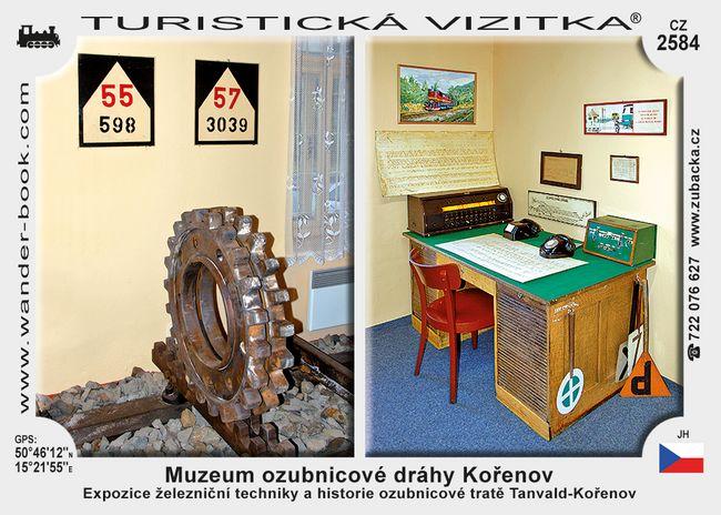 Muzeum ozubnicové dráhy Kořenov