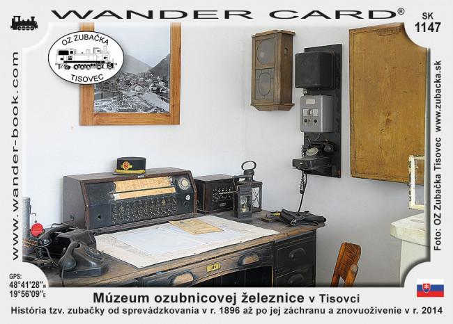 Múzeum ozubnicovej železnice v Tisovci