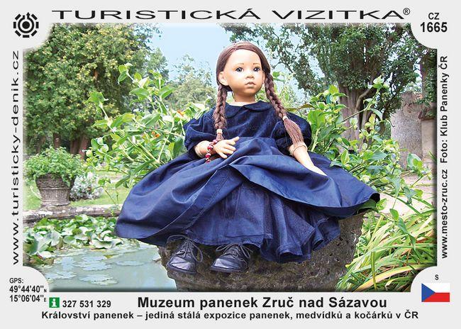 Muzeum panenek Zruč nad Sázavou