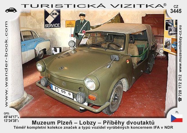 Muzeum Plzeň-Lobzy - příběhy dvoutaktů