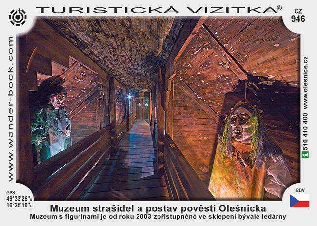 Muzeum strašidel a postav pov. Olešnicka