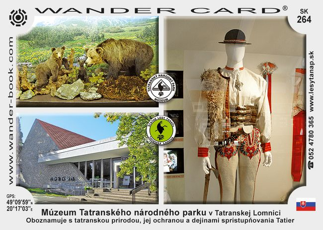 Múzeum Tatranského národného parku v Tatranskej Lomnici