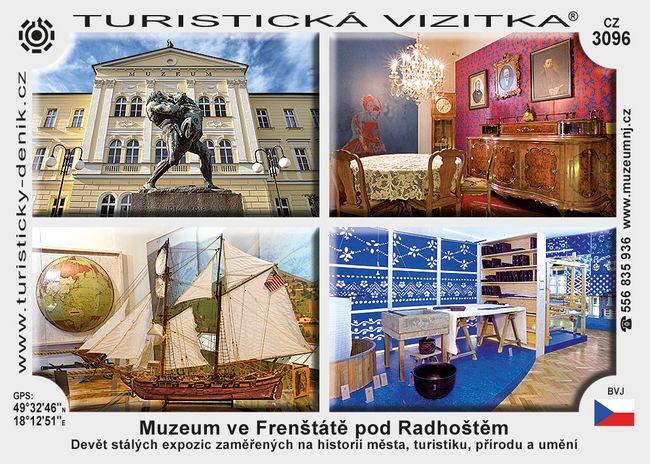 Muzeum ve Frenštátě p. Radhoštěm