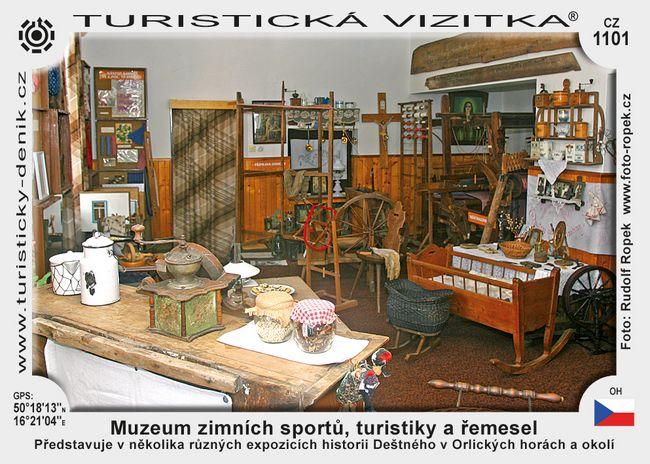 Muzeum zimn. sportů, turistiky a řemesel
