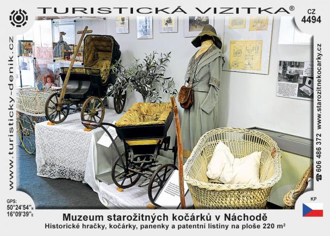 Náchod muzeum kočárků