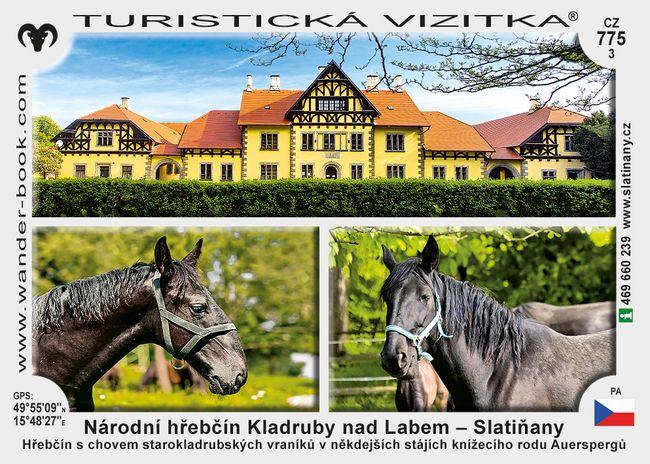 Národní hřebčín Kladruby nad Labem - Slatiňany