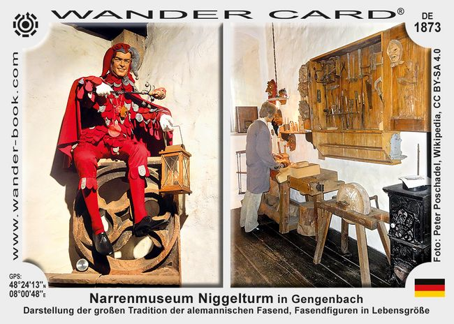 Narrenmuseum Niggelturm in Gengenbach