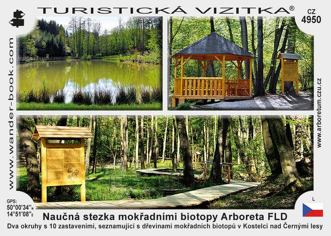 Naučná stezka mokřadními biotopy Arboreta FLD