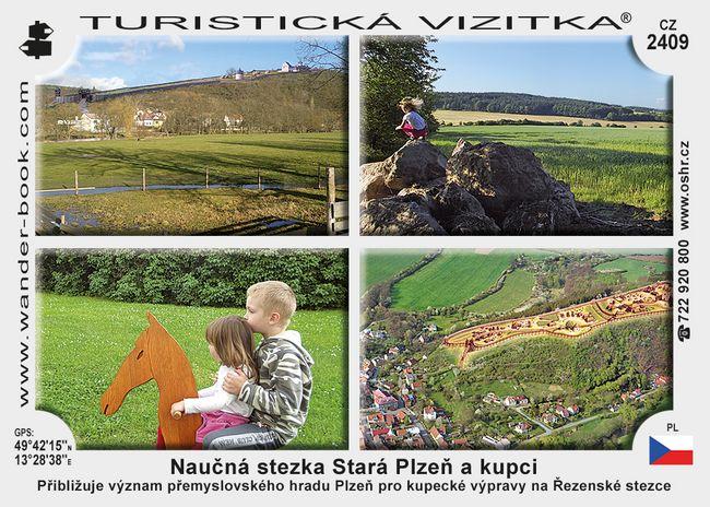 Naučná stezka Stará Plzeň a kupci