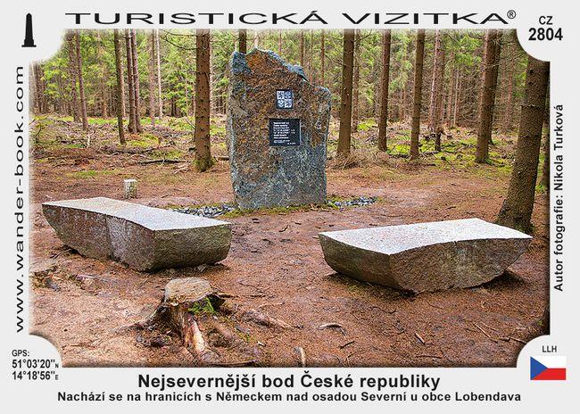 Nejsevernější bod České republiky