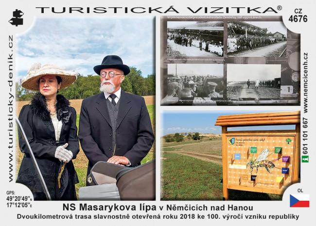 NS Masarykova lípa v Němčicích nad Hanou