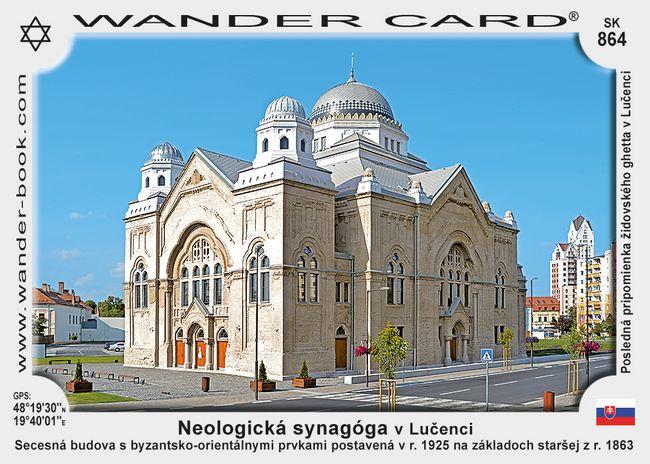 Neologická synagóga v Lučenci