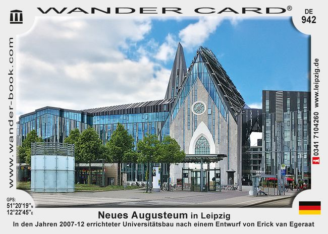 Neues Augusteum in Leipzig