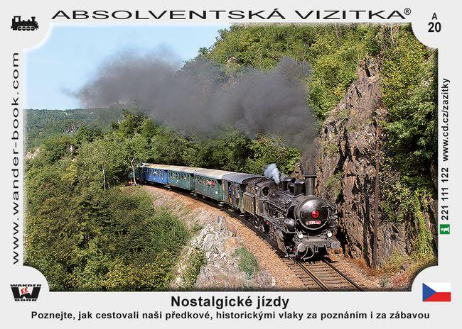 Nostalgické jízdy D (1-12)