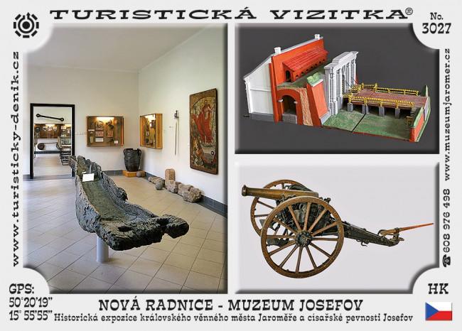 Nová radnice - muzeum Josefov