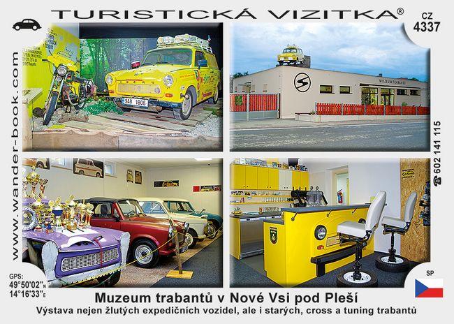 Muzeum trabantů v Nové Vsi pod Pleší