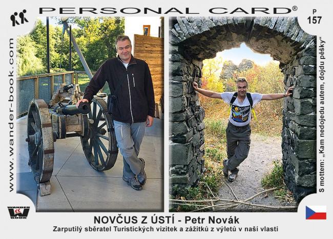 NOVČUS z Ústí - Petr Novák