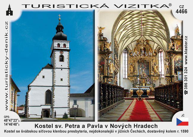 Nové Hrady kostel