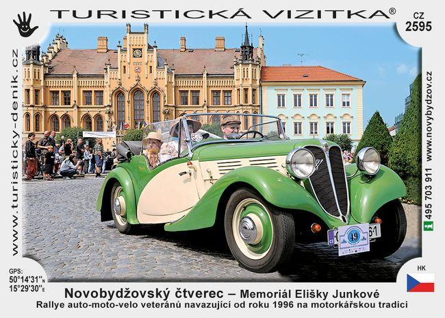 Novobydž. čtverec - Memoriál E. Junkové