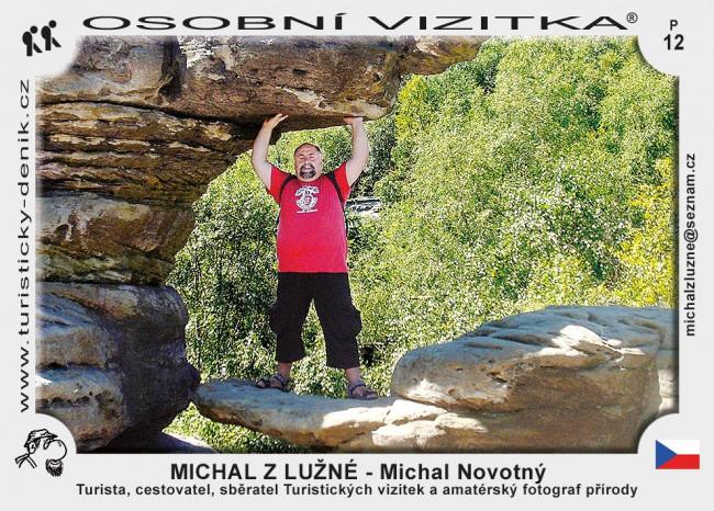 Novotný Michal - MICHAL Z LUŽNÉ