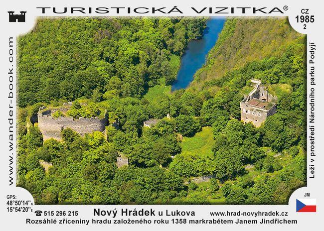 Nový Hrádek u Lukova