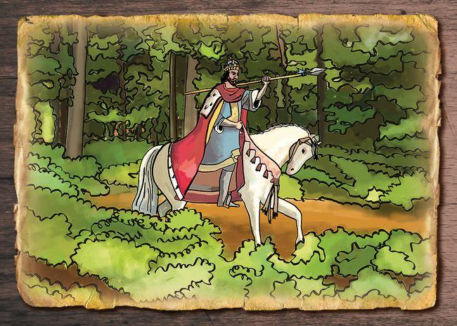 O kráľovi Ľudovítovi a medveďovi