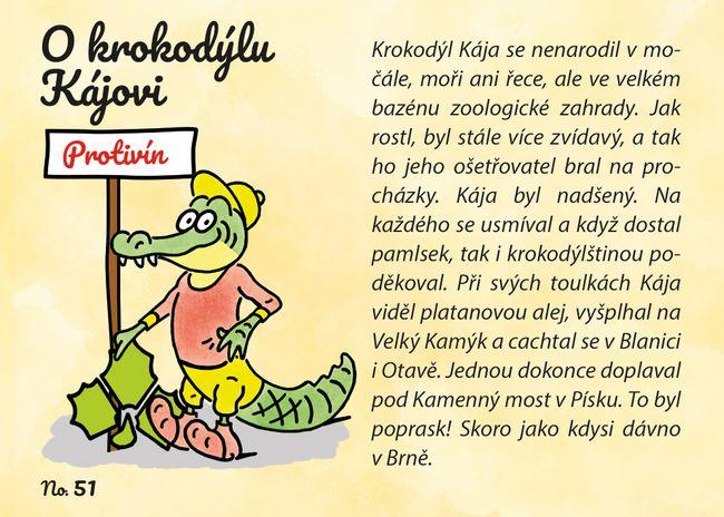 O krokodýlu Kájovi