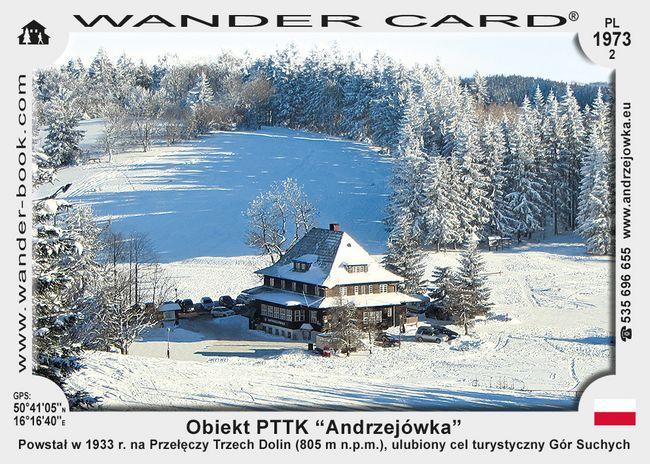 """Obiekt PTTK """"Andrzejówka"""""""