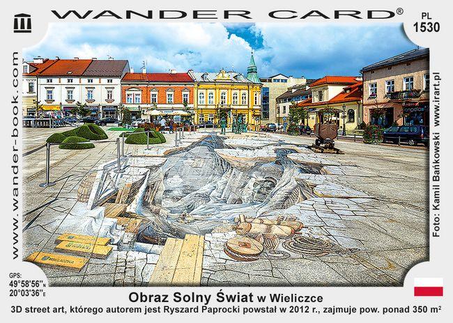 Obraz Solny Świat w Wieliczce