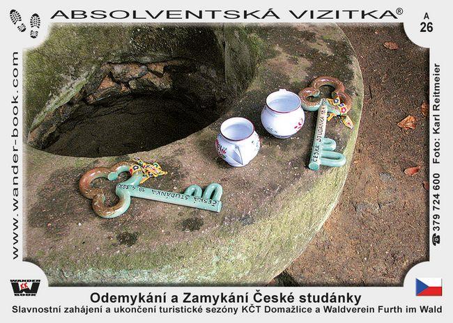 Odemykání a Zamykání České studánky (4 a 11)