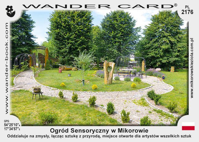 Ogród Sensoryczny w Mikorowie