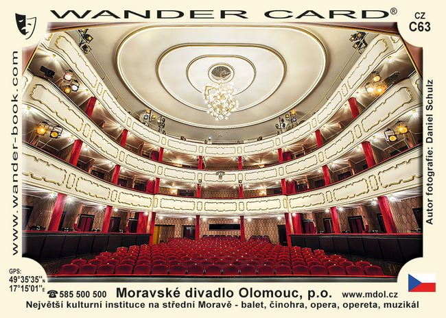Olomouc Moravské divadlo